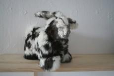 MASCOTS, animal fur, horse hair, wood
